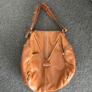 Genuine Hogan purse with side pockets
